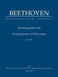 String Quartet in B-flat major Op.130 (Study Score)