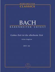 """Cantata No.106 Gottes Zeit ist die allerbeste Zeit """"Actus tragicus"""" (BWV 106) (Study Score)"""