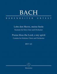 Cantata No.143 Lobe den Herrn, meine Seele (BWV 143) (Study Score)