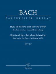 Cantata No.147 Herz und Mund und Tat und Leben (BWV 147) (Study Score)