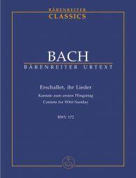 Cantata No.172 Erschallet, ihr Lieder (BWV 172) (Study Score)