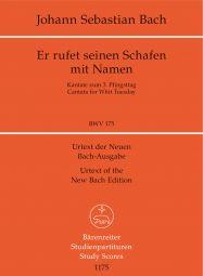 Cantata No.175 Er rufet seinen Schafen mit Namen (BWV 175) (Study Score)